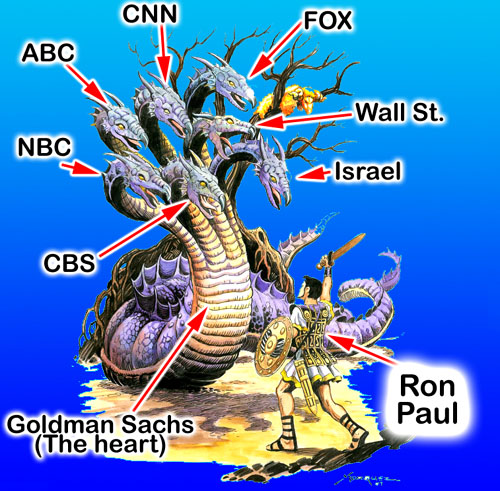 Ron Paul Posters SMALL_Hydra