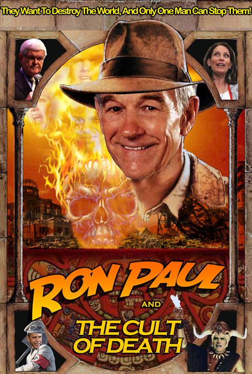 Ron Paul Posters SMALL_RonPaulAndTheCultOfDeath