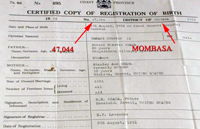 New Obama Birth Certificate Another Hoax? SMALL kenyandocument top notated