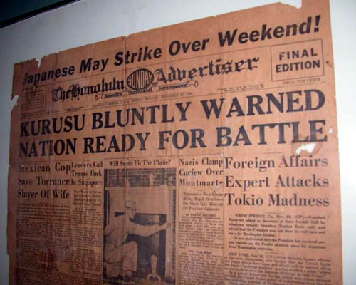 The American and British Governments Knew – Down to the Day – of the Coming Japanese Attack on Pearl Harbor SMALL pearlharborwarning