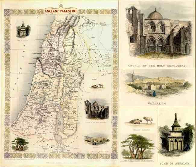 فلسطين...القضية Antiquepalestine1851
