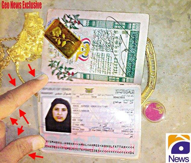 More Fake Photos Emerge In Bin Laden Farce passportfakeosamawife